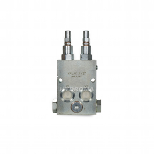 PRESSURE RELIEF VALVE - DUAL CROSS OVER, DIRECT ACTING, ANTI-CAVITATION